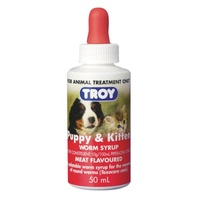 Troy Puppy & Kitten Worm Syrup
