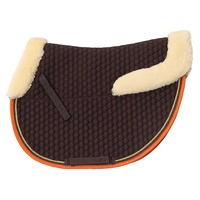 Zilco Fleece Trim Jumping Saddle Cloth