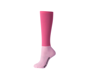 Noble Outfitters Perfect Fit Performance Boot Socks Over the Calf Flamingo Pink