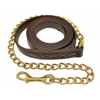 Walsh Leather Stitched Lead with Chain